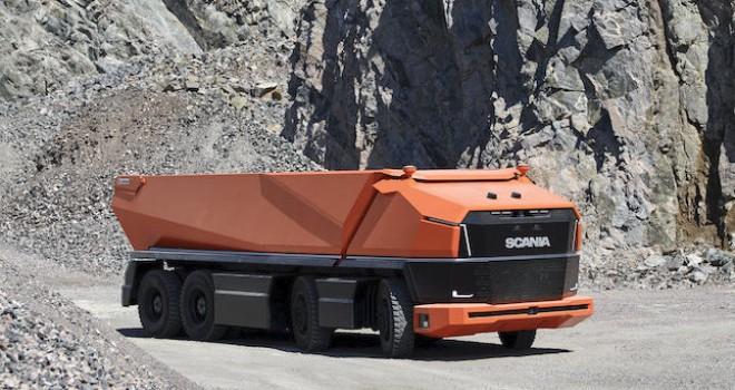 Scania'dan kabinsiz ve otonom kamyon