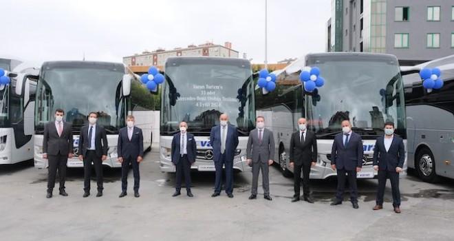 Mercedes-Benz Türk'ten Varan Turizm'e 33 adet otobüs teslimatı
