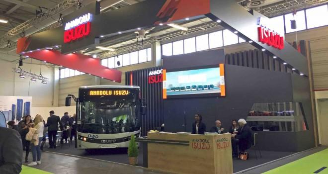 Anadolu Isuzu Novociti Life ile Bus2Bus'ta yerini aldı