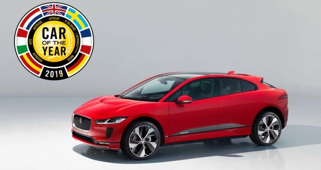 Tamamen Elektrikli Jaguar I-PACEAvrupa'da Yılın Otomobili Seçildi