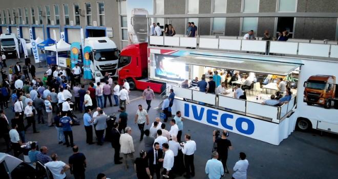 IVECO, 400 müşterisine yeni araçlarını tanıttı