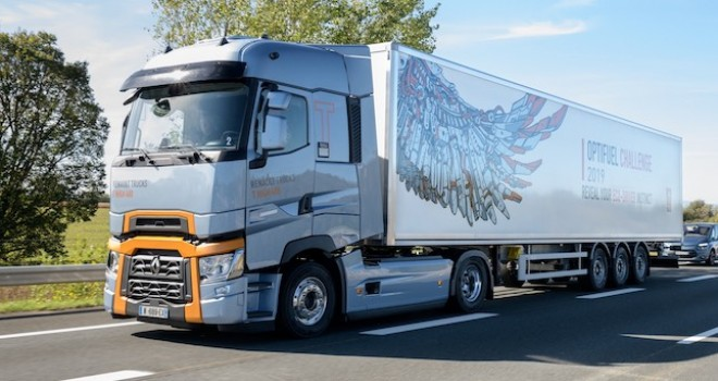 Renault Trucks'ın yakıt tasarrufu yarışması Optifuel Challenge sonuçlandı