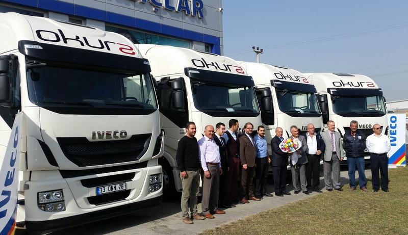 Mersinli taşımacılık firması filosuna Euro 6 Stralis çekiciler kattı