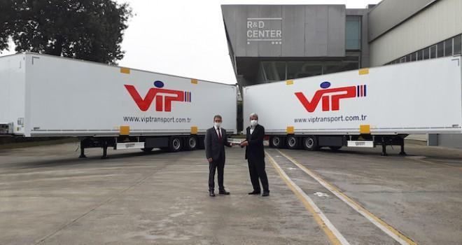VİP Taşımacılık Tırsan'dan 50 adet treyler aldı