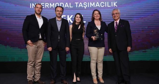 Ekol Lojistik intermodal modeline sürdürülebilirlik ödülü