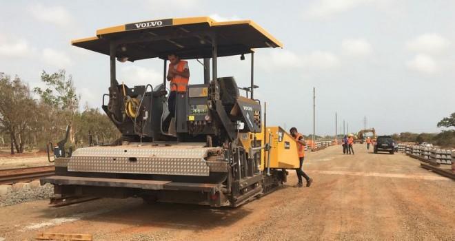 Senegal Hızlı Tren Projesinde Volvo ve YAPIRAY İmzası
