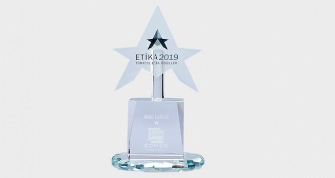Mars Logistics'e EDMER'den Türkiye'nin En Etik Şirketler Ödülü