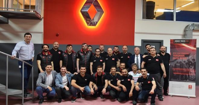 Renault Truckssatış sonrası yarışmasıRTEC'deTürkiye'yi Koçaslanlar Otomotiv temsil edecek
