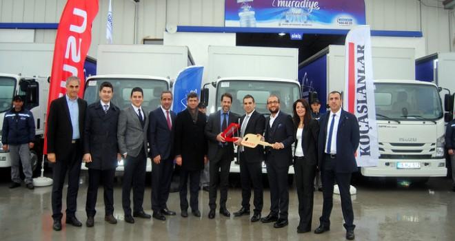 Anadolu Isuzu'dan Bursa'ya 16 adet NPR kamyon