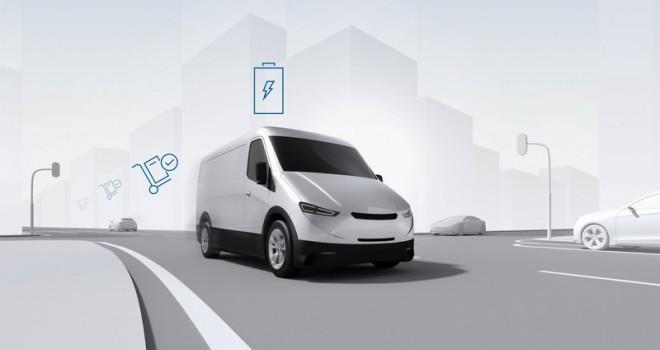 Bosch'tan elektrikli hafif ticarilere yeni bir çözüm