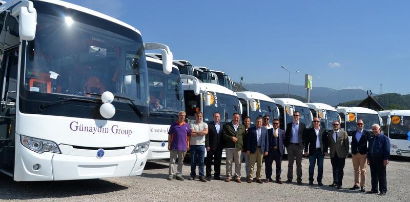 4 Bin Adetlik Araç Filosuna Sahip Olan Firma 17 Adet Temsa Otobüs Aldı
