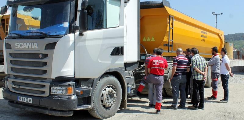 40 sürücüsü Scania'dan eğitim aldı, yakıt tüketimi yüzde 7 azaldı