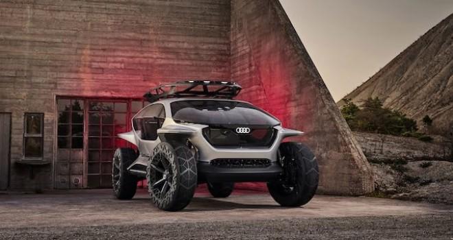 Audi'nin otonom  off-road aracı tanıtıldı