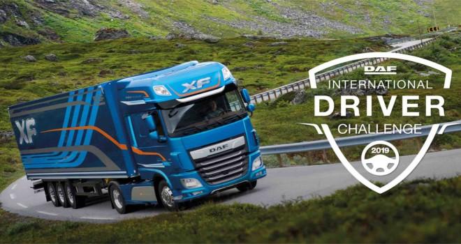 En iyi kamyon ve TIR sürücü benim diyenler için DAF Sürücü Yarışması 2019 için kayıtlar başladı
