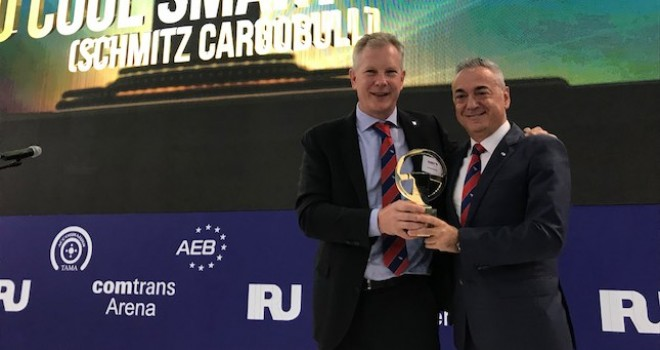 Schmitz Cargobull S.KO COOL'a Rusya'dan 2019 Yılın En İyi Ticari Aracı ödülü