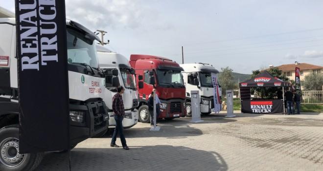 Renault Trucks, Ege'de 3 bine yakın filo sahibi ve şoförlebuluştu