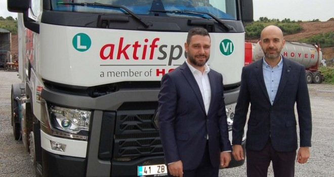 """""""Filomuzda 800 bin kilometrede Renault Trucks var"""" dedi T 460 çekicilerle filosunu güçlendirdi"""