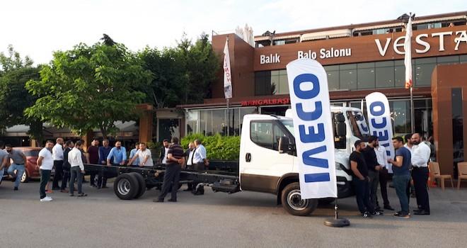 IVECO 200'den fazla evden eve nakliyeciyle buluştu