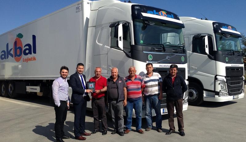 Mersinli Akbal Lojistik, 5 adet Volvo FH çekici aldı