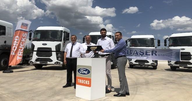 Akkoç Lojistik'e 10 adet Ford Trucks