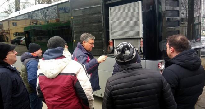 Anadolu Isuzu Köstence Belediyesi şoförlerine eğitim verdi