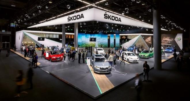 ŠKODA Frankfurt'ta Elektrikli Modellerini Sergiledi