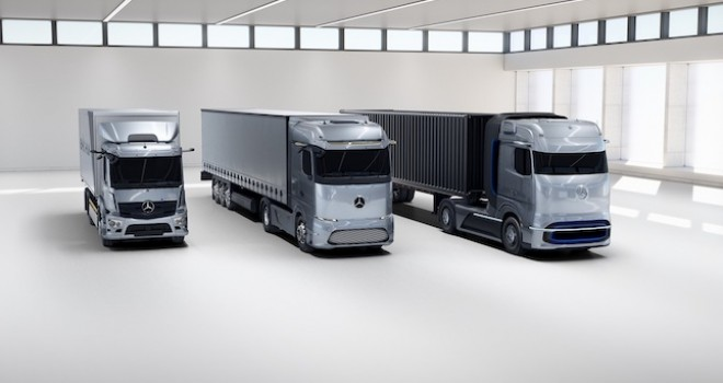 Mercedes-Benz eActros ve GenH2 Kamyona 2021 Kamyon İnovasyon Ödülü