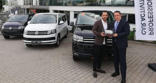 VTR Turizm filosuna 10 adet Volkswagen Caravelle kattı