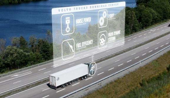 İşte Volvo'nun akıllı kamyonu…