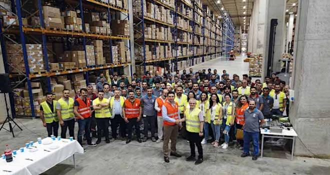 Ekol Lojistik, FLO işbirliğini Türkiye'nin tek çatı altındaki en büyük kapalı alana sahip deposuna taşıdı