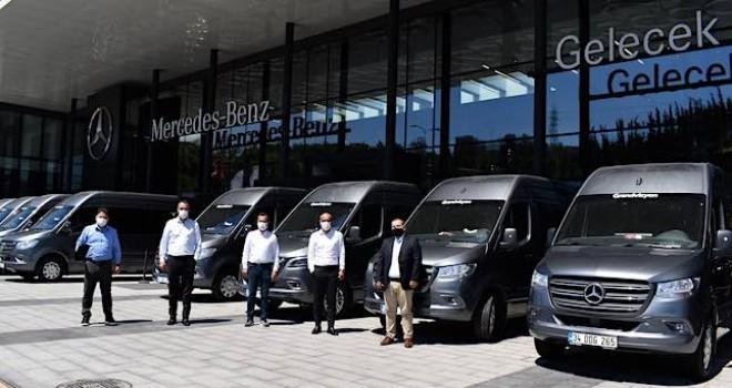 Grandtur Turizm'e 15 adet Mercedes-Benz Sprinter