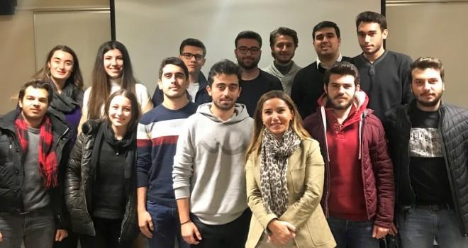 Sertrans Logistics CEO'su Nilgün Keleş'ten üniversite öğrencilerine etik eğitimi