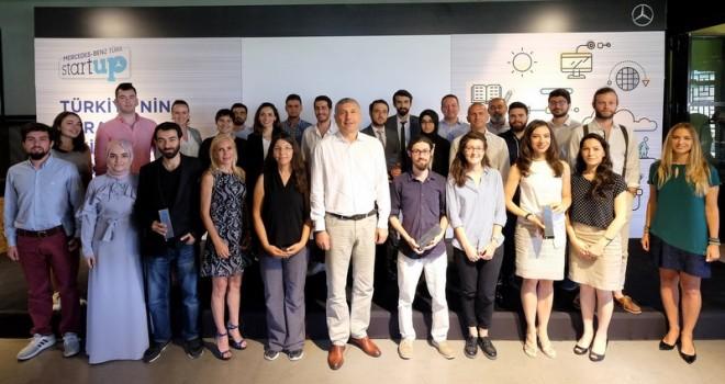 Mercedes-Benz Türk'ten 3 StartUP'a 150 bin TL ödül
