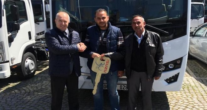 Anadolu Isuzu'dan okul paketli modeli Novo Lüx teslimatı