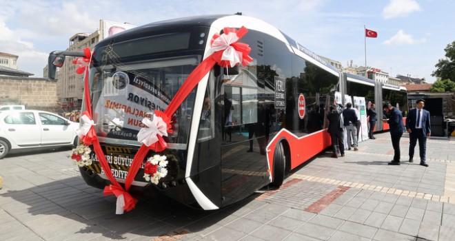 Kayseri'deki elektrikli otobüs ihalesini Bozankaya kazandı