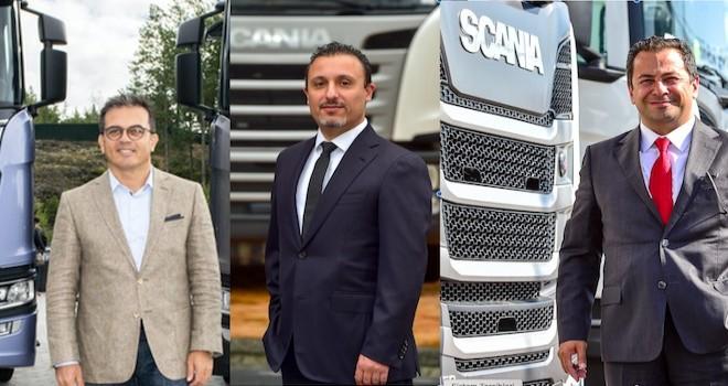 Scania'da 3 Önemli Görev Değişikliği