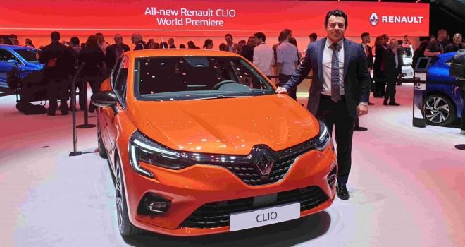 Renault, Cenevre'deYeni Clio'nun Dünya Prömiyeri'ni gerçekleştiriyor
