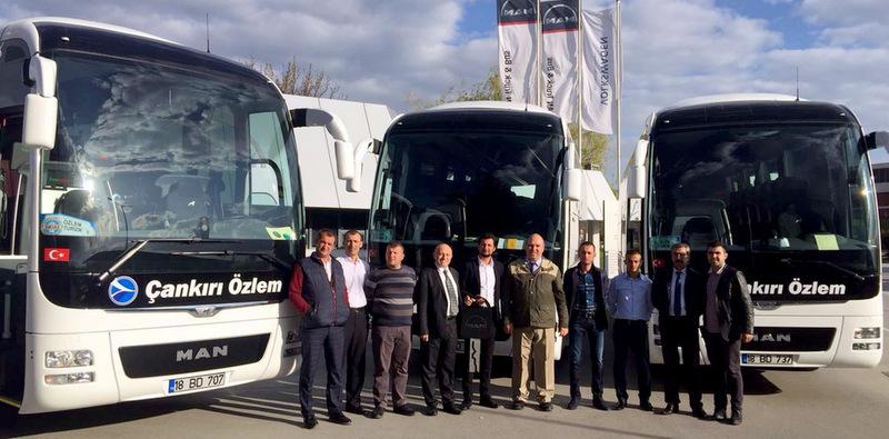 5 şehirlerarası otobüs firmasına 10 adet otobüs teslim etti