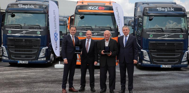 50 adet Volvo FH çekici aldı ve filosundaki araç sayısını 550 adede yükseltti