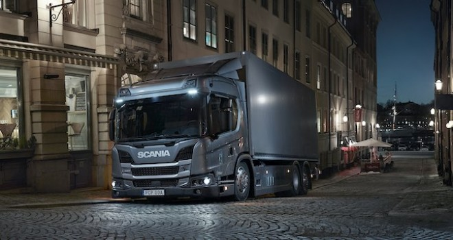 Scania L 320'a 'Yılın Sürdürülebilir Aracı' ödülü