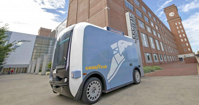 Goodyear ve Local Motors, otonom servis araçları için güçlerini birleştiriyor