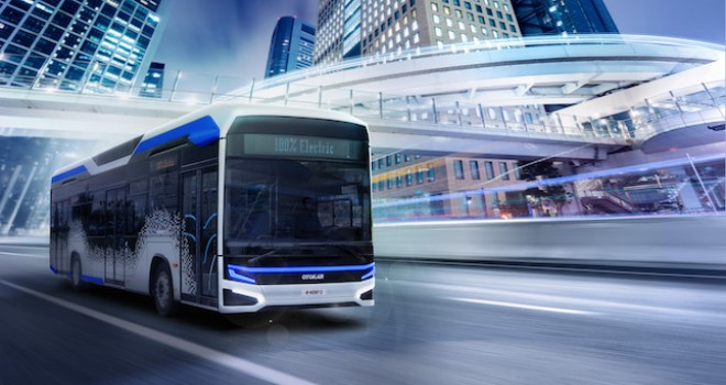 Otokar'ın Elektrikli KENT Otobüsü  Busworld Europe'da Sergilenecek