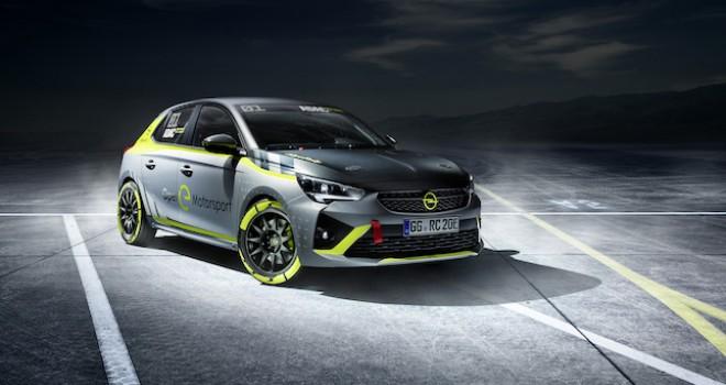 Opel, Dünyanın İlk Elektrikli Ralli Otomobilini Tanıtacak