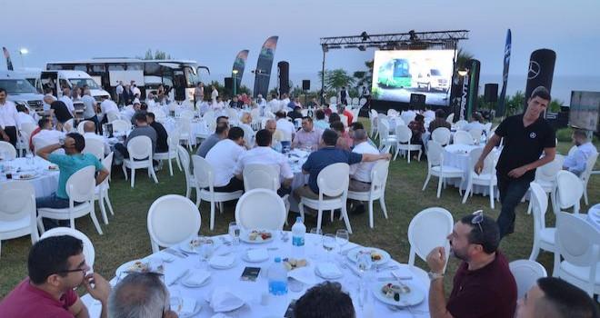 Yeni Sprinter ve Tourismo 15 Antalya'da müşterileri ile buluştu