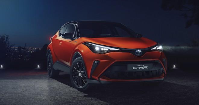 Türkiye'nin ilk yerli hibrit ve SUV otomobili Toyota C-HR yenilendi