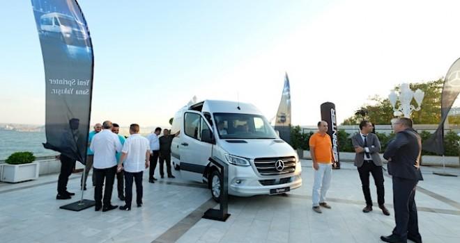 Yeni Mercedes-Benz Sprinter 5 şehirde müşterileri ile buluştu