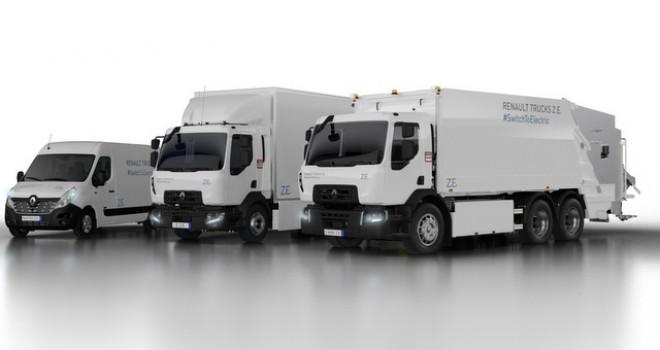 Renault Trucks, Elektrikli Kamyonların Satışına Başlayacak