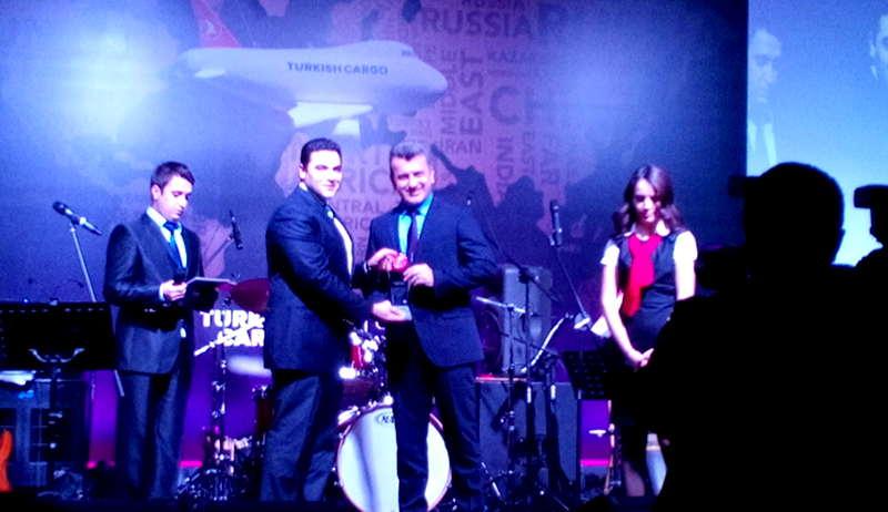 Turkish Cargo'dan Mars'a ödül