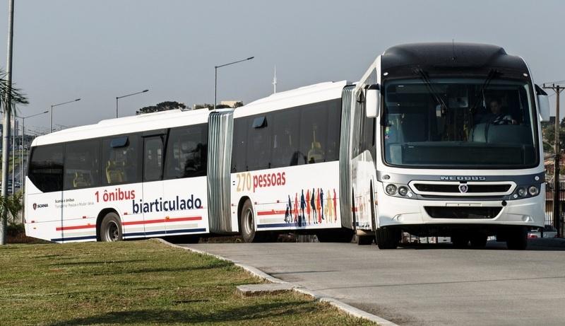 Brezilya metrobüs pazarındaki 28 metrelik Scania otobüsler için şanzıman geliştiriyor