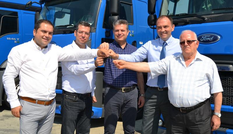 BKM Lojistik filosunu 23 adet Ford Cargo Midilli çekiciler ile güçlendirdi